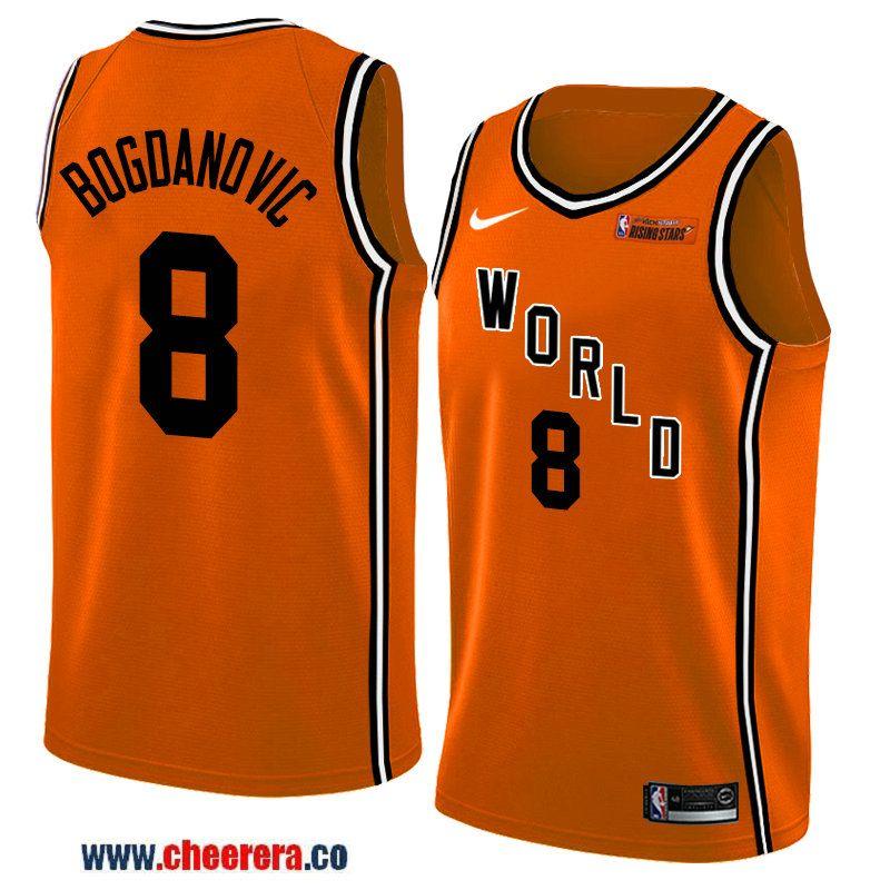 sale retailer fb201 959ee 2018 nba all-star rising stars challenge men's orange ...