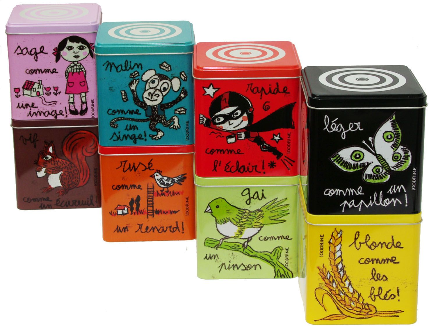 Cible - Spice Box by 100drine pour Sentou Edition: I want the whole collection, they're gorgeous andsooo cute!