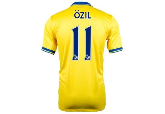 online store 5184a 12440 Mesut Ozil 2013 Arsenal Away Jersey...$98.99 | Featured ...