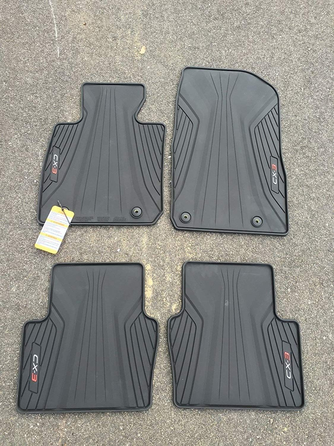 Mazda CX3 ALL WEATHER FLOOR MATS OEM NEW You can find