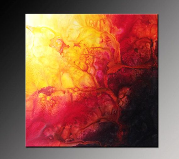 Original Abstract Painting Large Canvas Art Modern