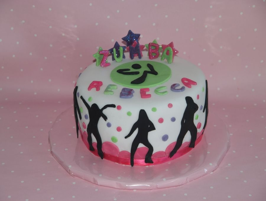 Zumba Cake On Cake Central Cakes Pinterest Cake Central And Cake