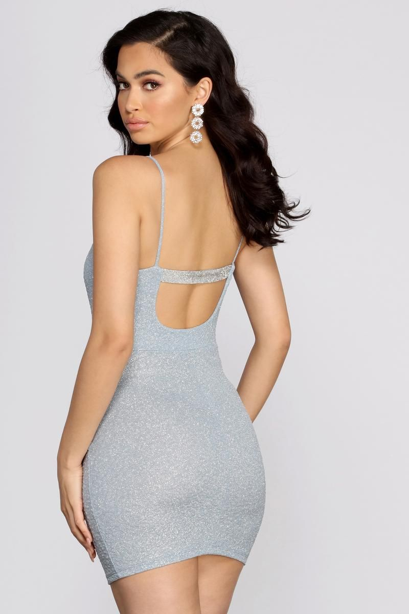 Rhine And Shine Glitter Mini Dress In 2021 Mini Dress Dresses Glitter Mini Dress [ 1200 x 800 Pixel ]