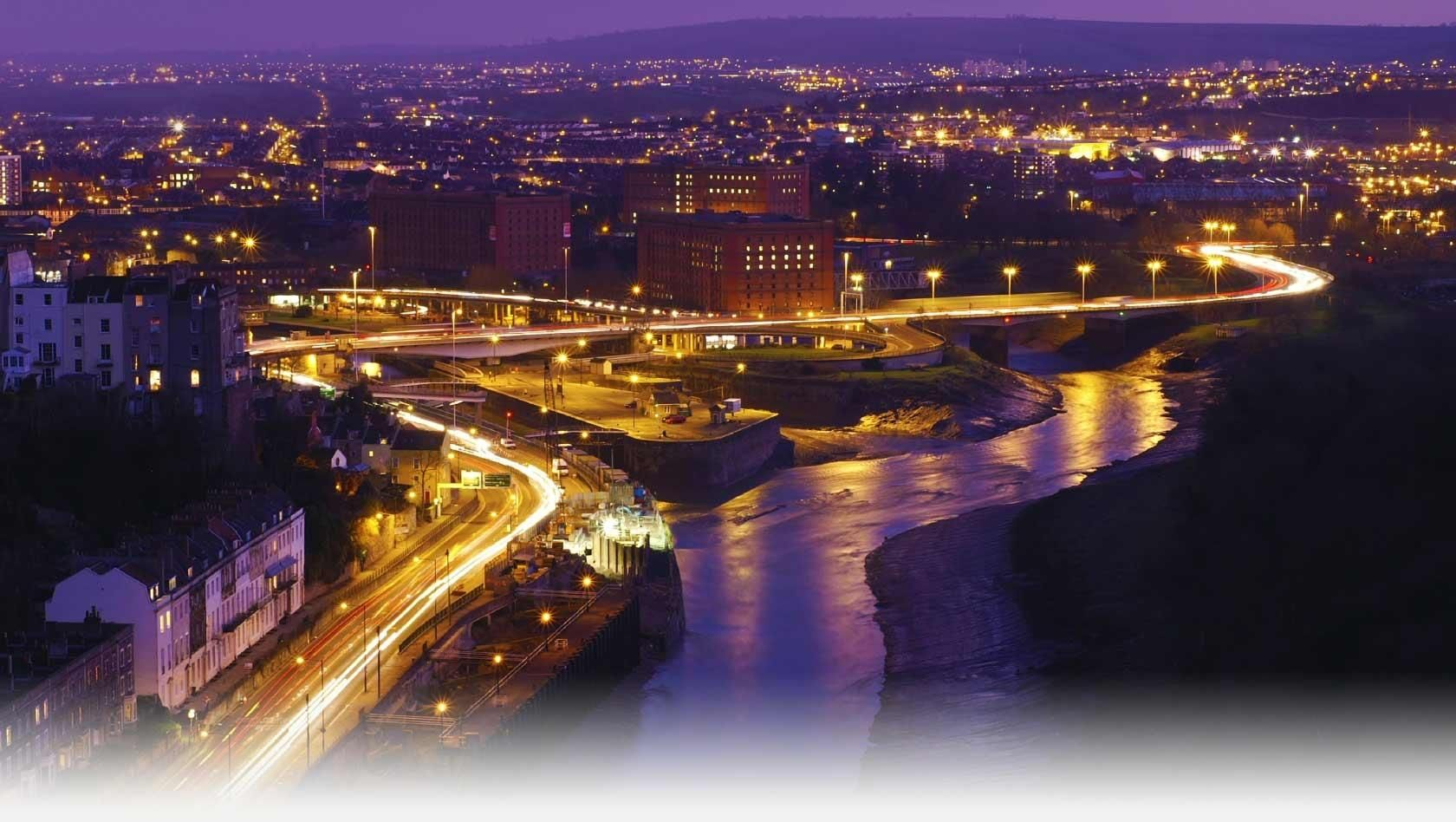 Places to go in bristol at night