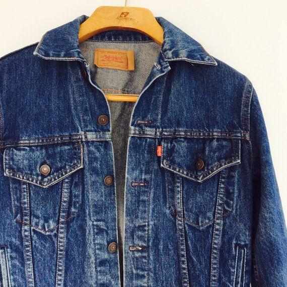 Mens Vintage Denim Jacket Mens Levi Denim Jacket Vintage Levi Jacket Size 38 Mens Vintage Jacket Mens Denim Jacket Men Vintage Denim Vintage Jacket Men