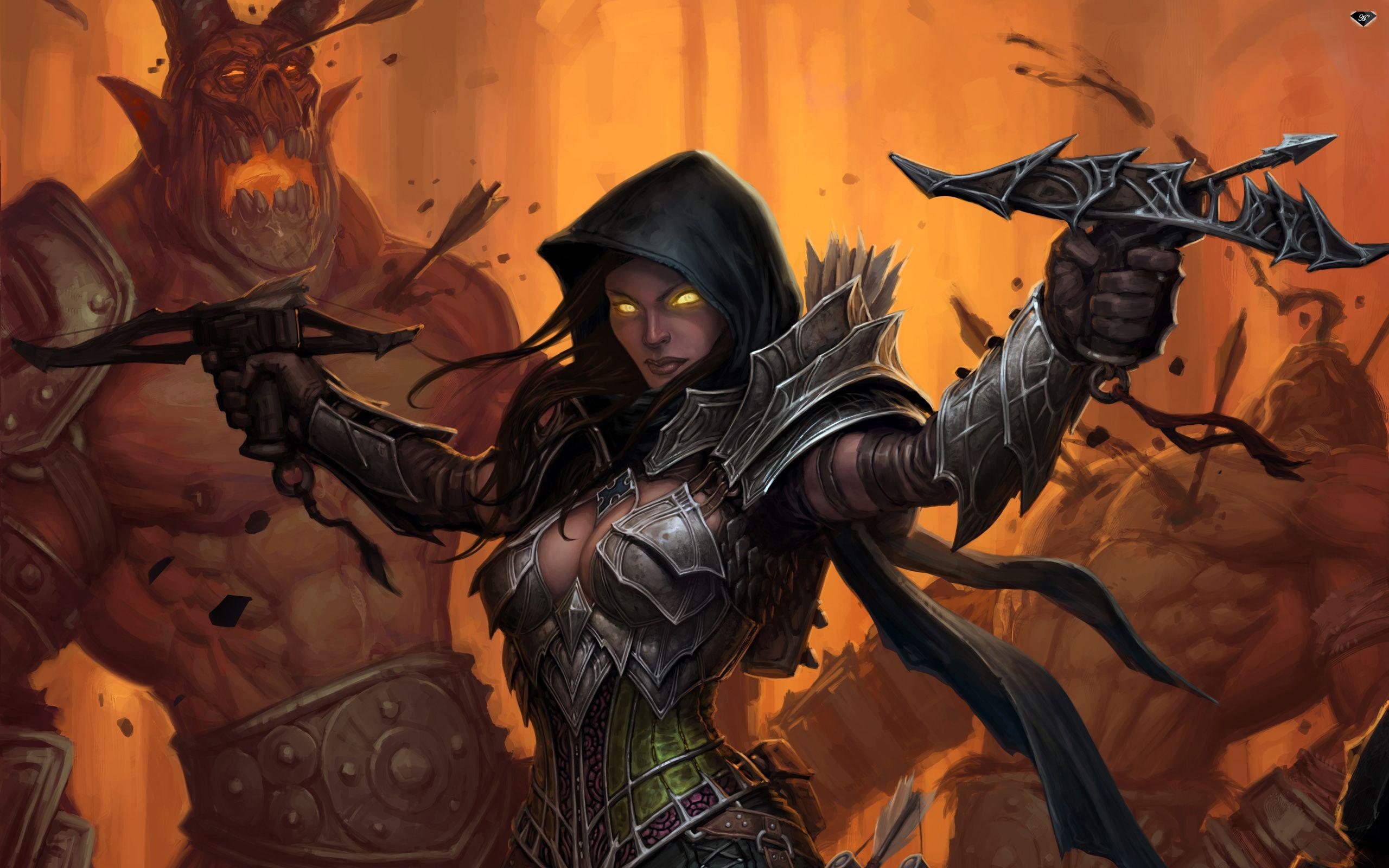 Pin by david on Characters: Fantasy   Demon hunter, Diablo 3, Hunter