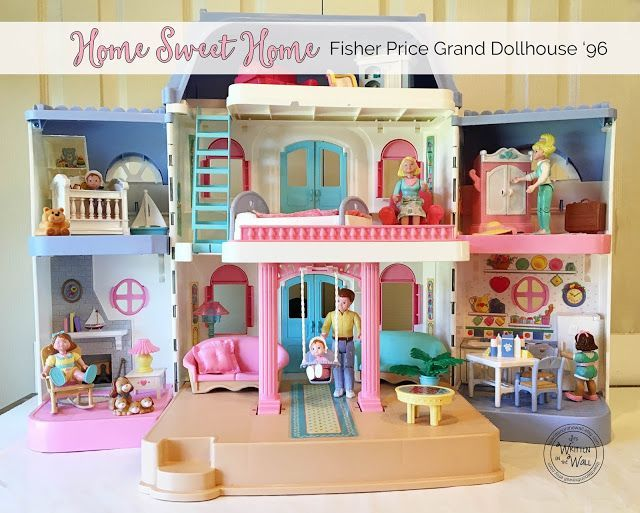 Crayon Marks On My Fisher Price Dream Dollhouse And Accessories Is
