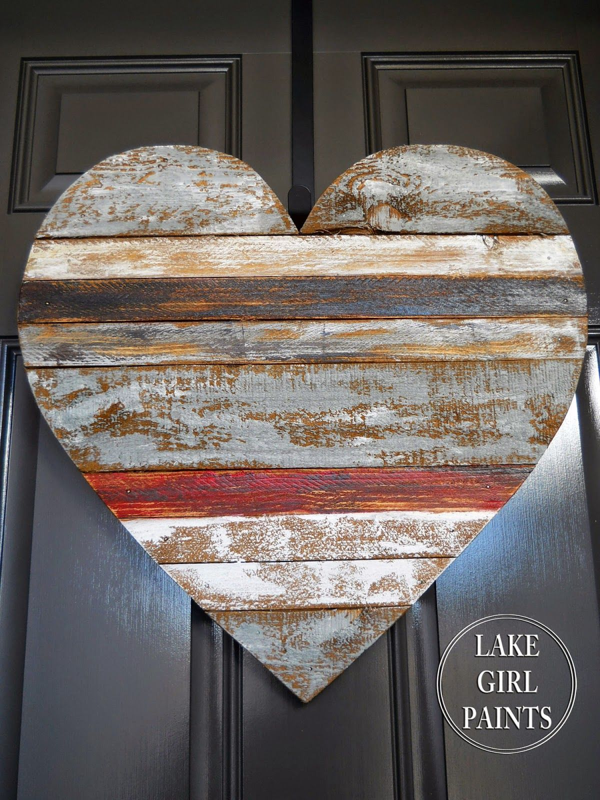 Pallet Art Wooden Hearts Wood Scraps Valentine S Day Diy