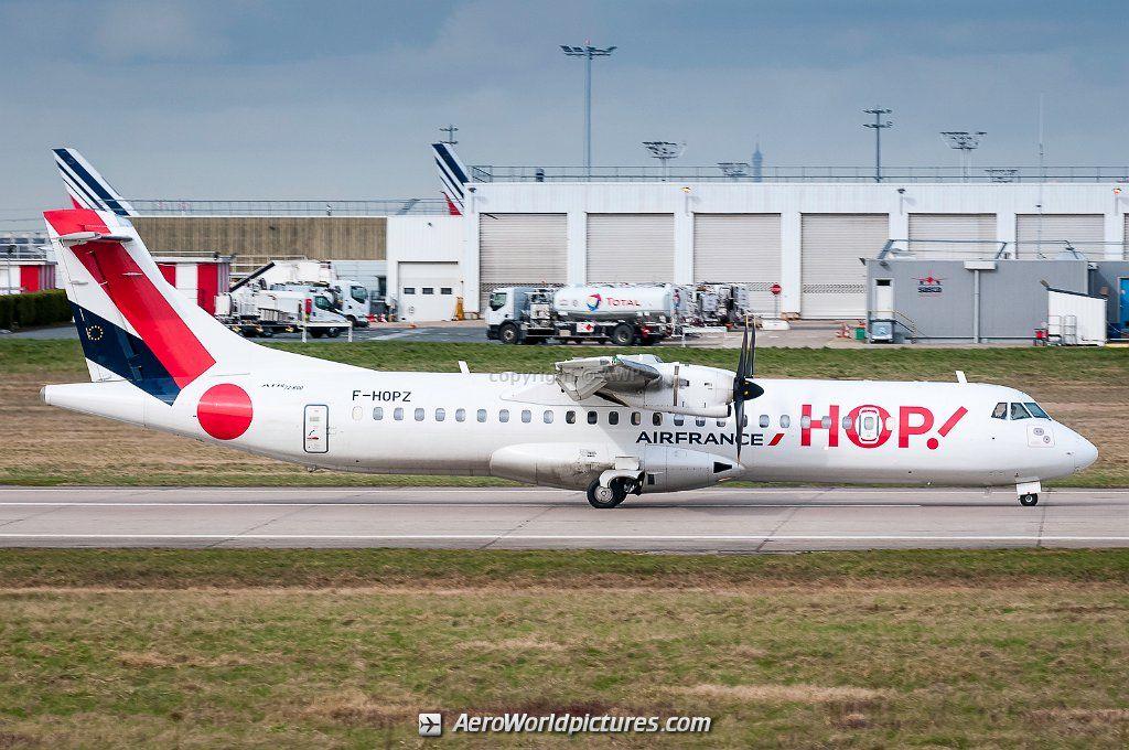 F Hopz Hop Atr 72 600 72 212a Engine Plane Aeronave