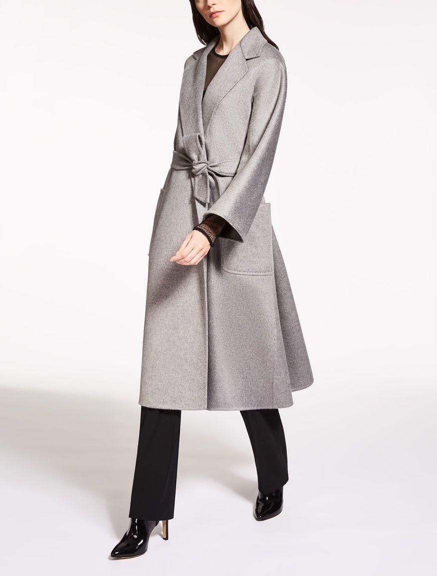 Max Mara LABBRO light grey  Cashmere coat.   Coat Check   Coat ... 47e334b26c