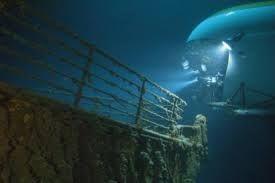 Afbeeldingsresultaat voor titanic wrak