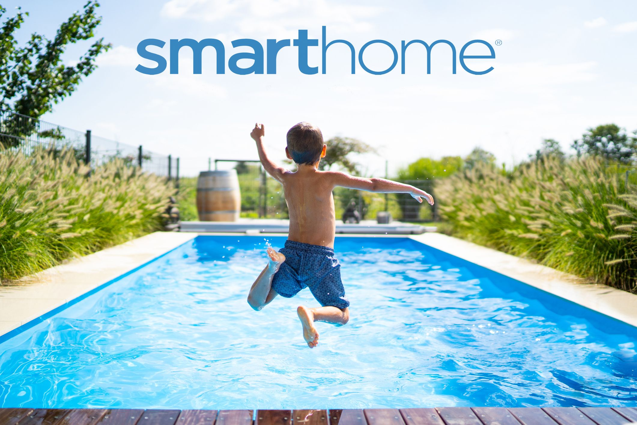 Pool Monitoring And Leak Detectors Secure Your Pool With Smarthome In 2020 Pool Swimming Pools Swimming Pool House