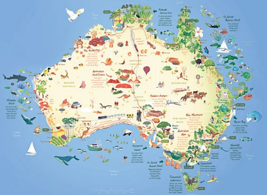 Australian Animals List With Pictures