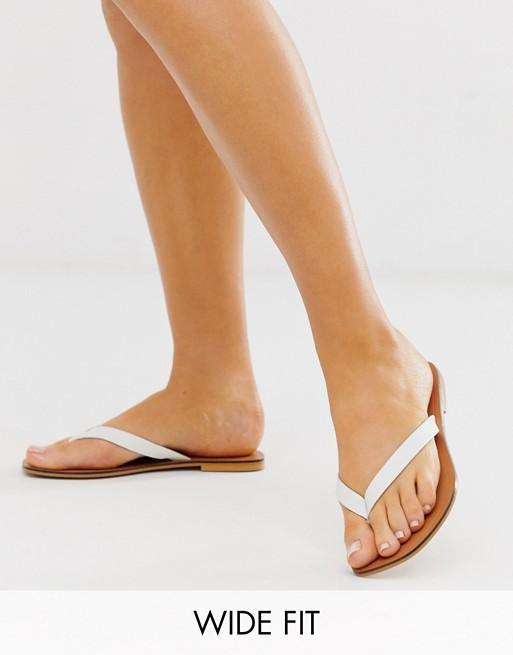 Florence leather flip flop sandals