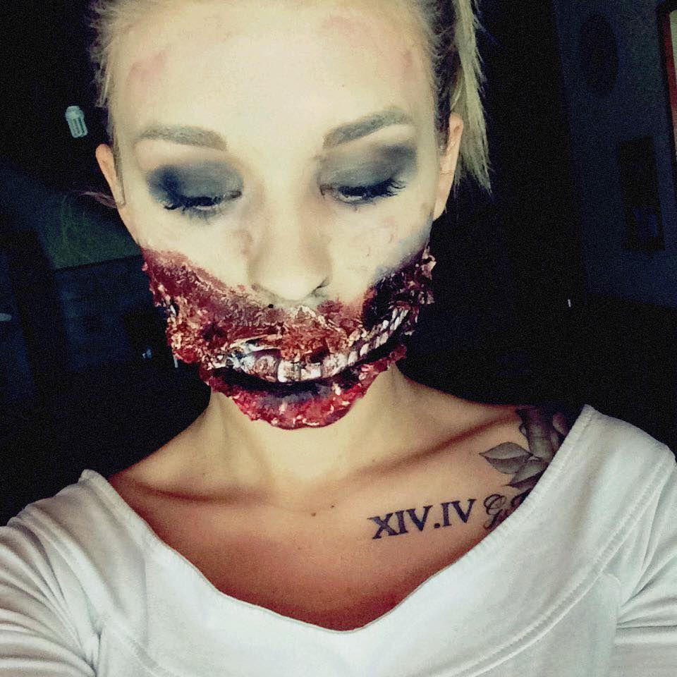 Toutes les photos du maquillage sur le FB -> Clélia Warhola - Le Blog :)