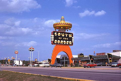 1973 Dillon Sc South Of The Border Giant Pedro Sign On Flickr Photo Sharing