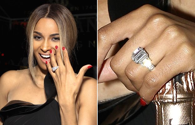 A Big Photo For A Big Rock See Ciara S Engagement Ring Ciara Engagement Ring Big Engagement Rings Fine Engagement Rings
