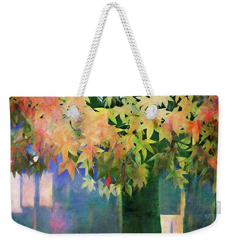 Colorful Tree Weekender Bag