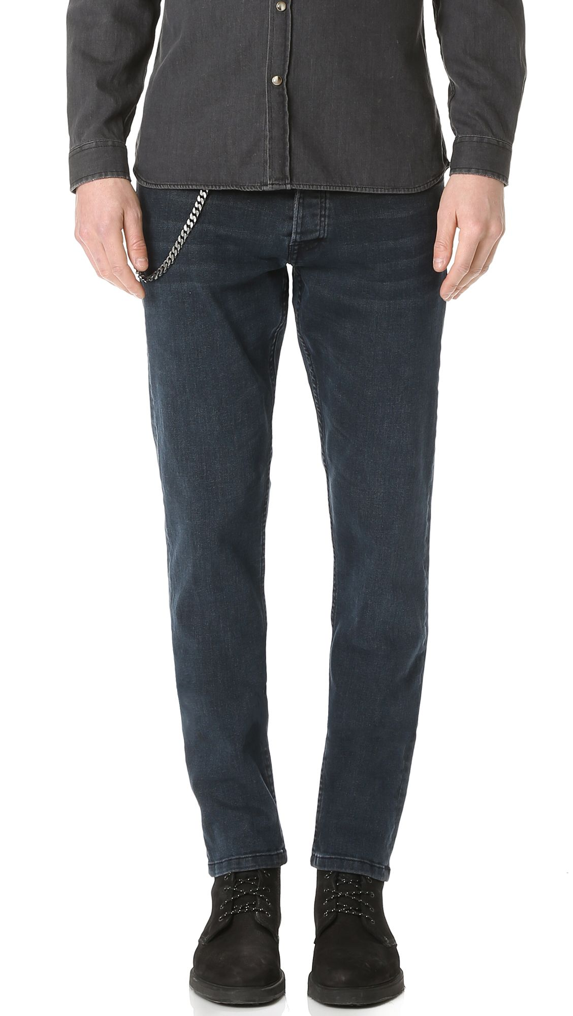 68b231132d7 THE KOOPLES Washed Slim Fit Jeans. #thekooples #cloth #jeans | The ...