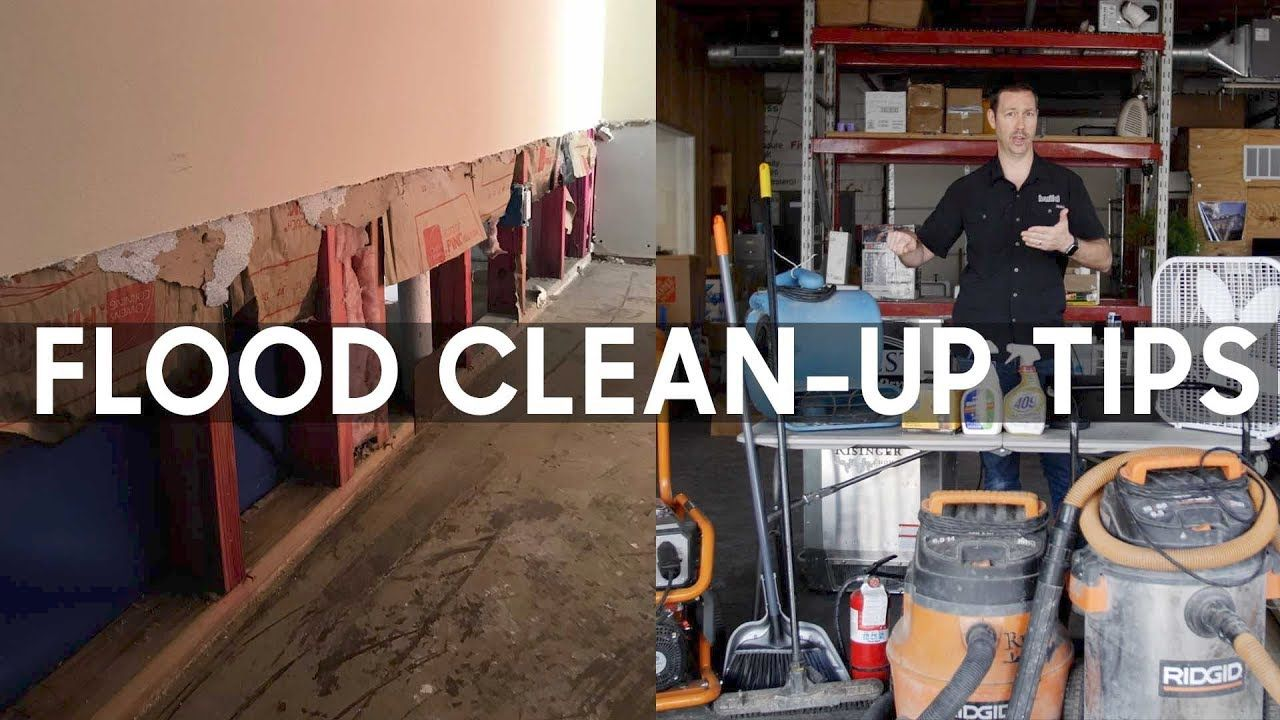 Flood cleanup 5 steps including mold control in 2020