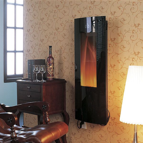 A Vertical Wall Mounted Electric Fire Torch From Patiogate