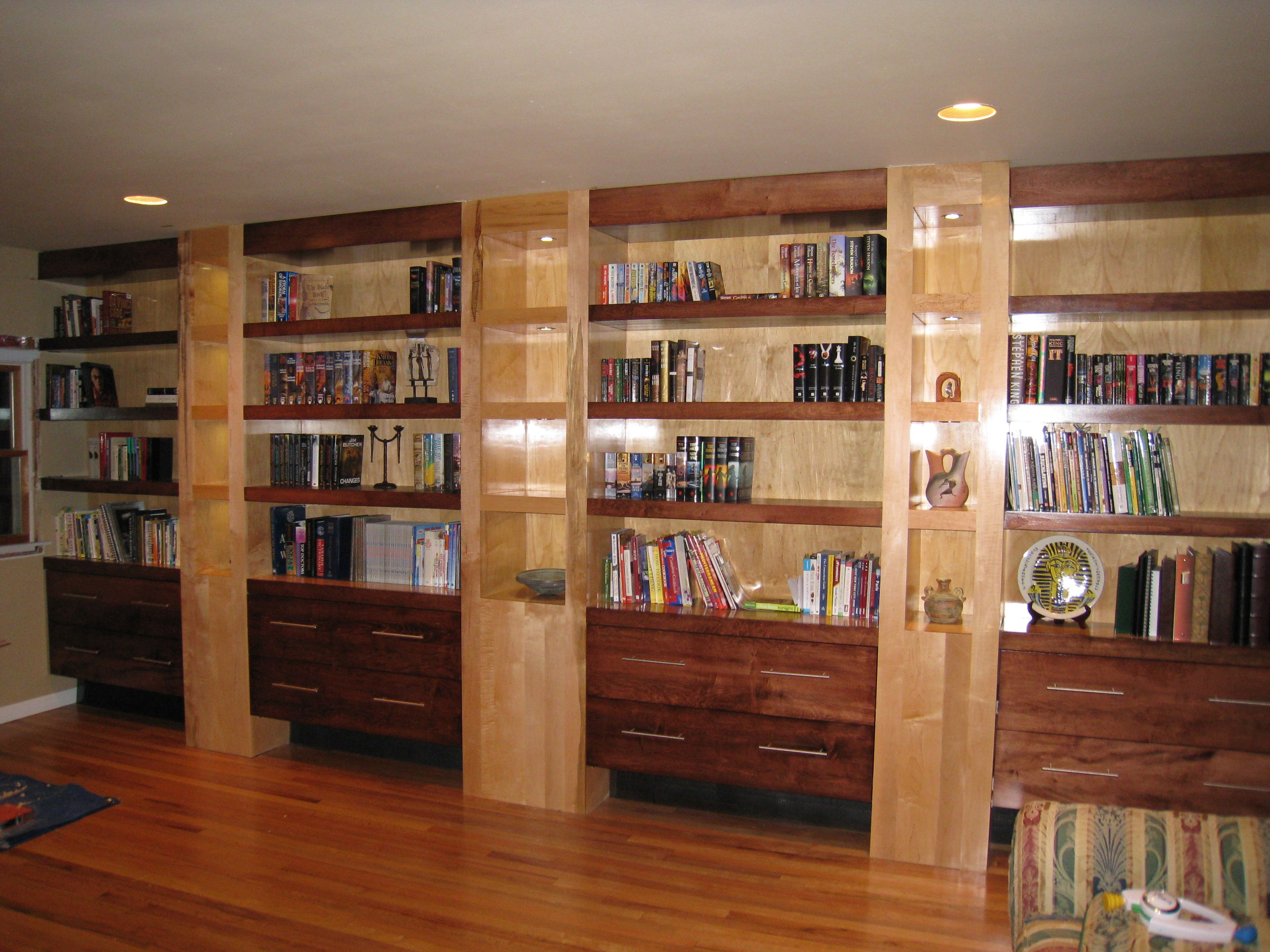Pictures Of Built In Bookcases Built In Bookcases Built In Bookcase Kreg Jig Owners Community