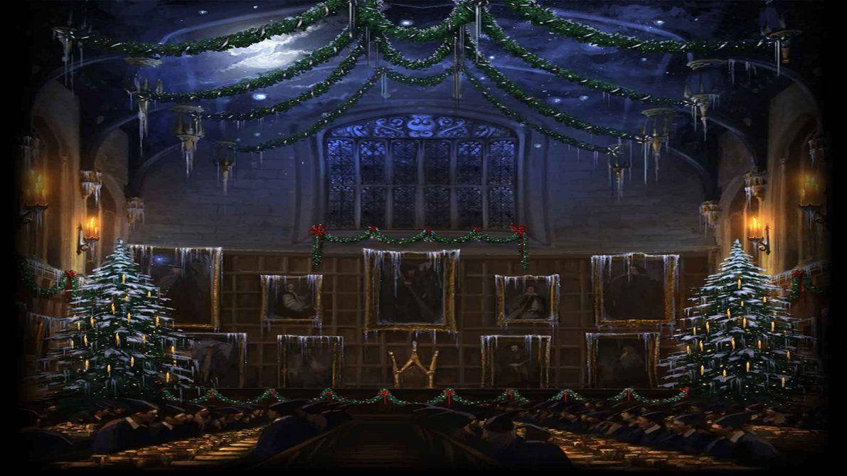 картинки на рабочий стол гарри поттер рождество время