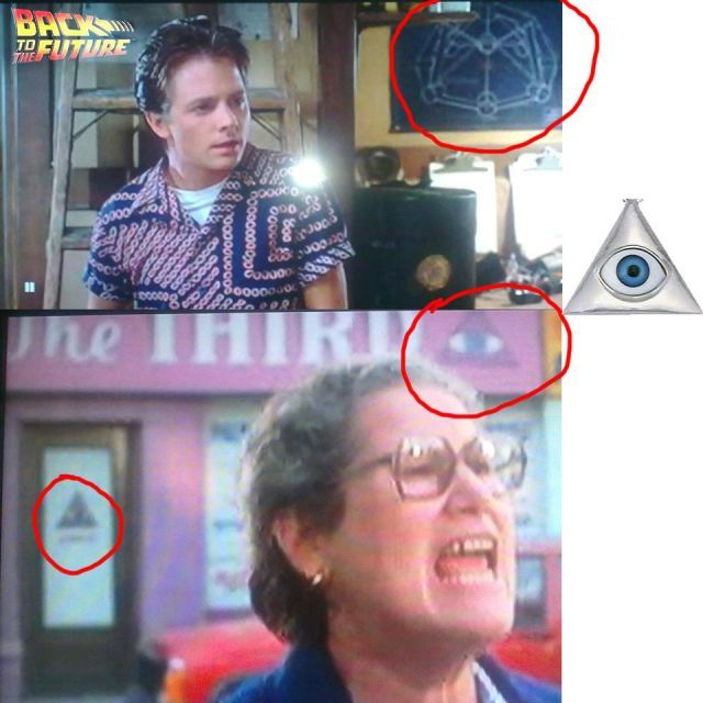 """Mind-Blowing! BACK TO THE FUTURE 1-3 'Fully Loaded' With SATANIC Symbolism,  9/11, and Their """"Future"""" Plans To Destroy! (Shocking Videos and Photos) 