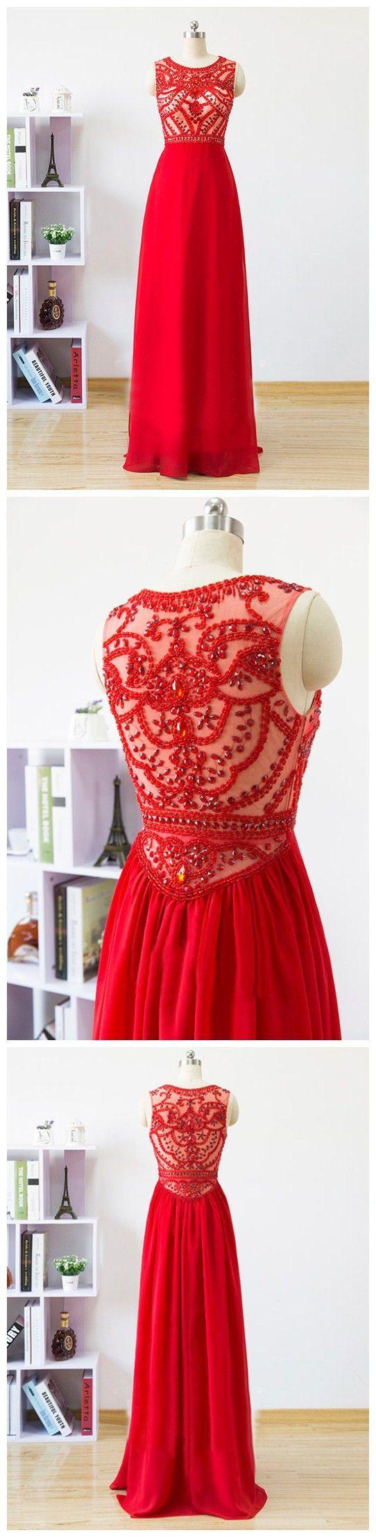 Red long prom dressesprom dressevening dress evening dressesprom