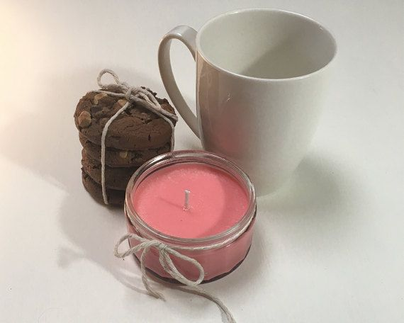 Lily of the Valley Soy Candle in Reusable Glass Jar by Troboje  Zero waste inspired reused glass containers + biodegradable wick and wax.