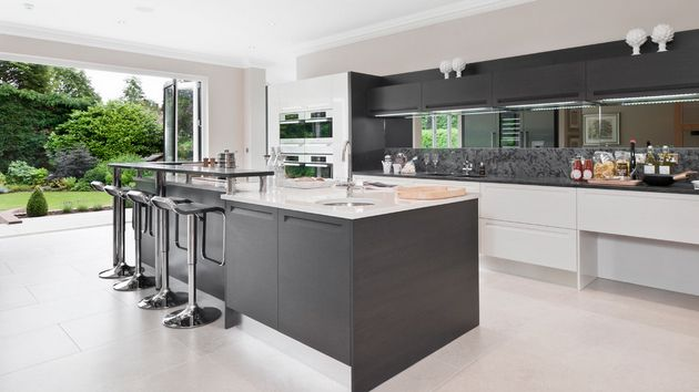 Best 20 Astounding Grey Kitchen Designs Grey Gray Kitchens 400 x 300