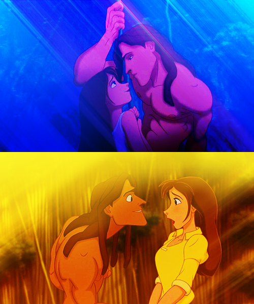 Tarzan. some of the best art in a disney movie ever!