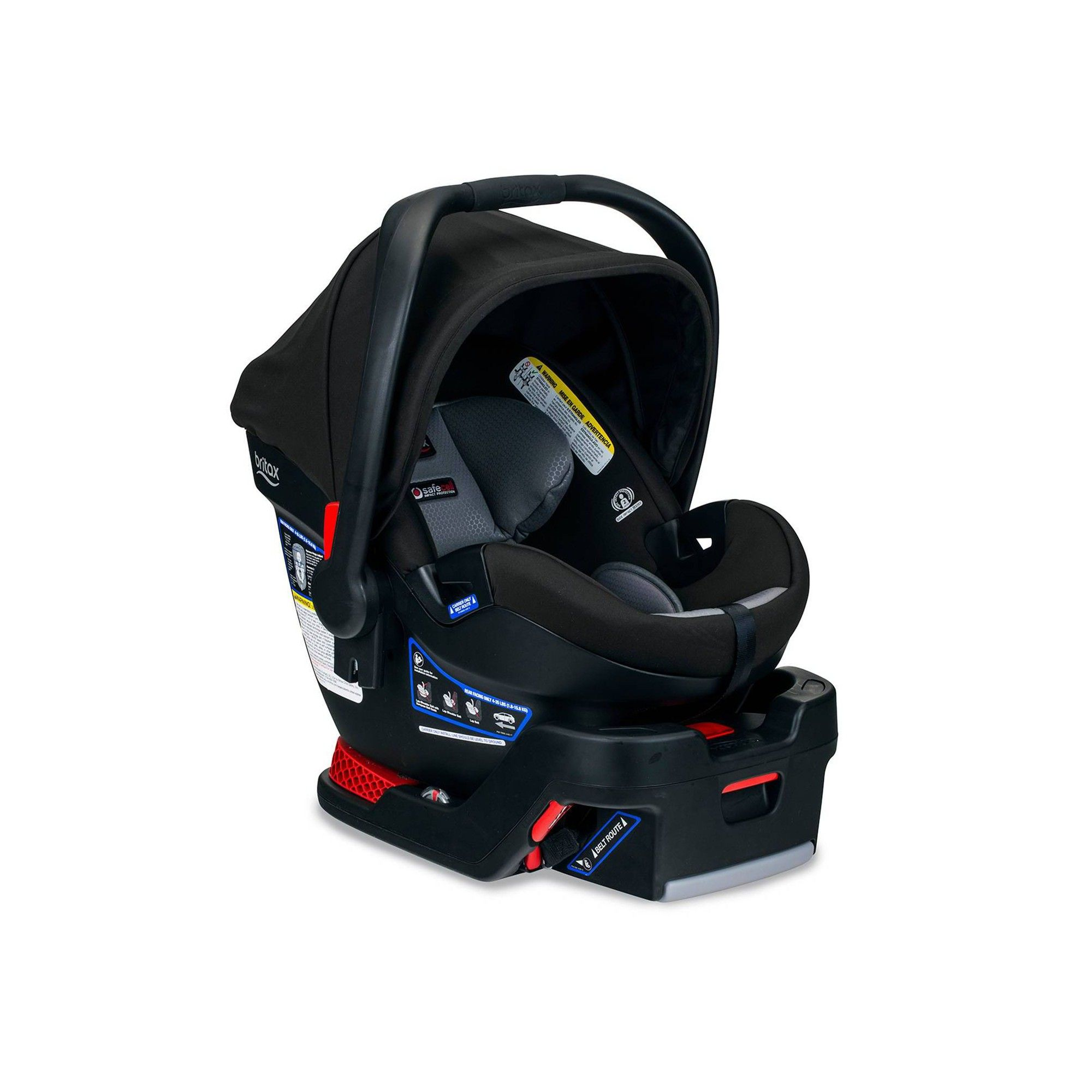 Britax BSafe Ultra Noir Infant Car Seat Black Baby