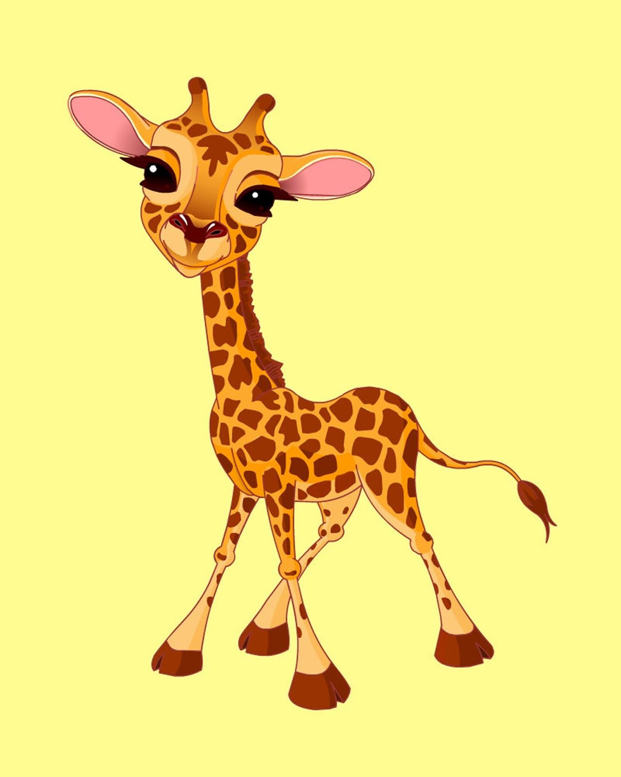 Free Printable Giraffe Pictures