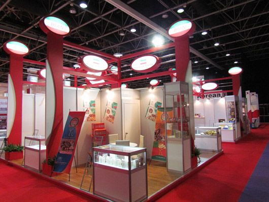 Exhibition Stand Iran : Artaaj sweets and snacks middle east iran