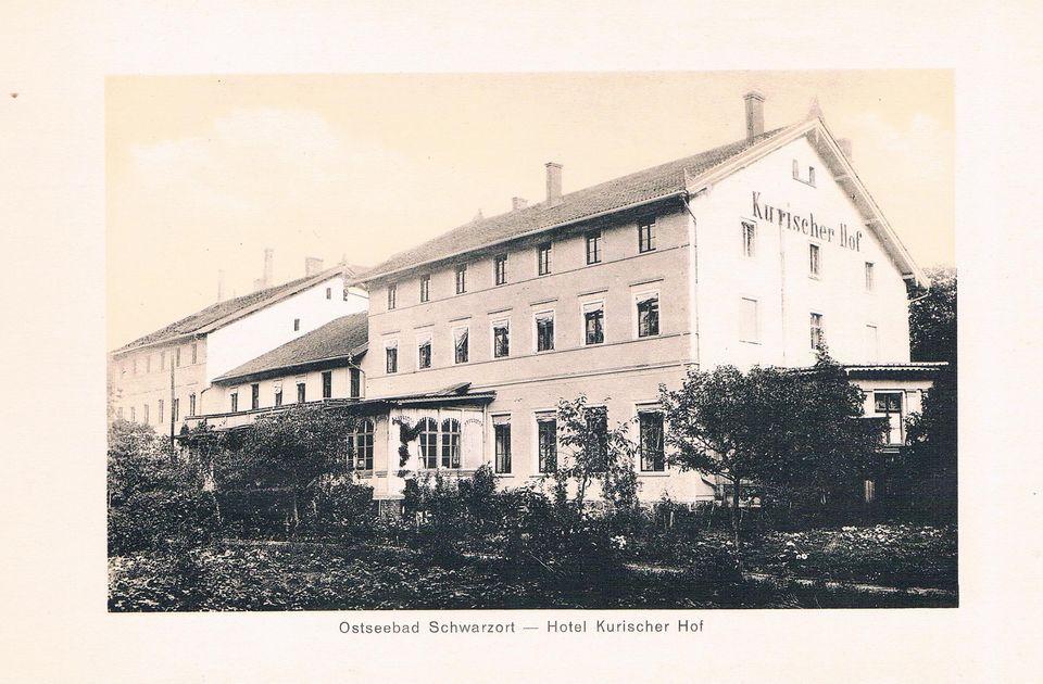 Ostseebad Schwarzort Hotel Kurischer Hof Kurische Nehrung Kr Memel Ostpreussen