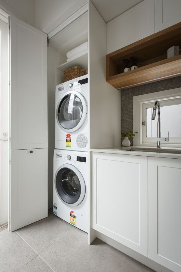 Tiny Homes And Why You NEED One | Laundry bathroom combo ...
