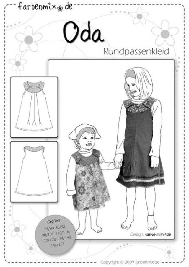 ODA, Schnittmuster - farbenmix Online-Shop - Schnittmuster ...