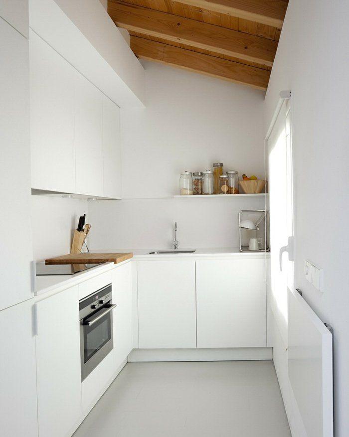 innendesign dachwohnung weiße küche Küche Pinterest Kitchens - ikea küche online planen