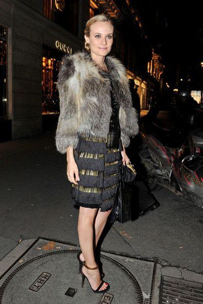 Diane+Kruger in Vogue Dinner party