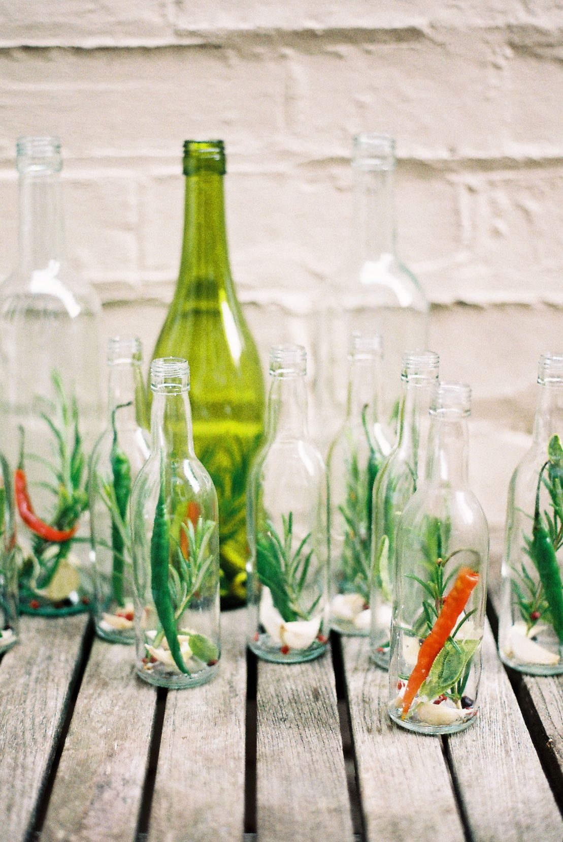Make: Chilli, garlic and herb infused olive oil #oliveoils