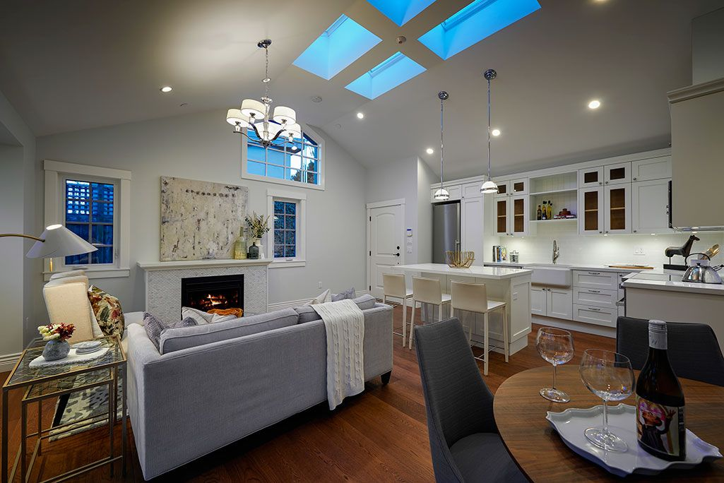 This Expansive 1 Bedroom 1 Bathroom 900 Square Foot Vancouver Laneway House Is Fit For A King Th Built In Furniture Accessible House Plans Small House Plans