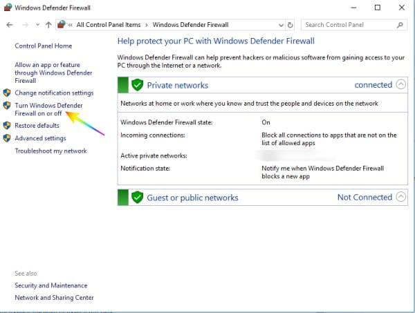 Menghentikan Windows Firewall Yang Memblokir Internet Pada Windows 10 Windows 10 Internet Windows