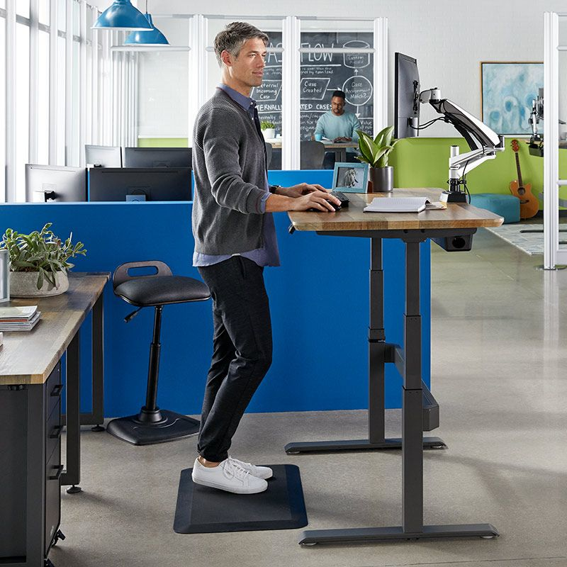 Electric Standing Desk 60x30 | Sit-to-Stand Adjustable Desk | Vari® |  Electric standing desk, Desk, Adjustable standing desk