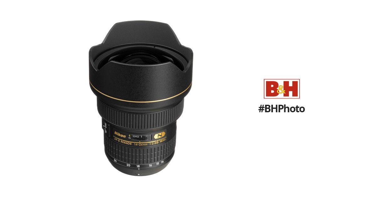 Nikon Af S Nikkor 14 24mm F 2 8g Ed Lens Nikon Lens 24mm