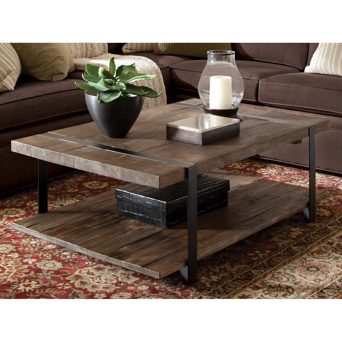Modesto 48 Reclaimed Wood Coffee Table In 2021 Coffee Table Chic Coffee Table Coffee Table Wood