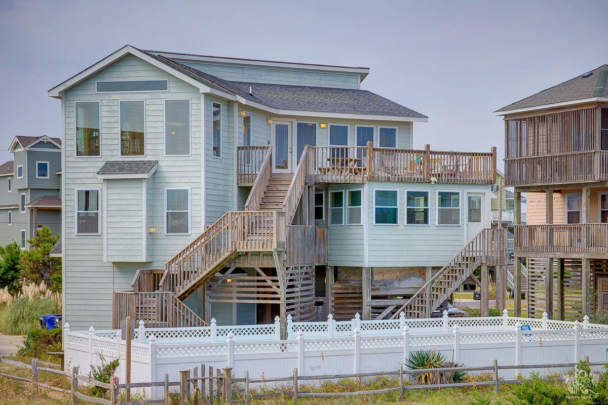 Macmurren 682 4 Bedroom Oceanfront House Obrrentals Waves Outer Banks Vacation Rentals