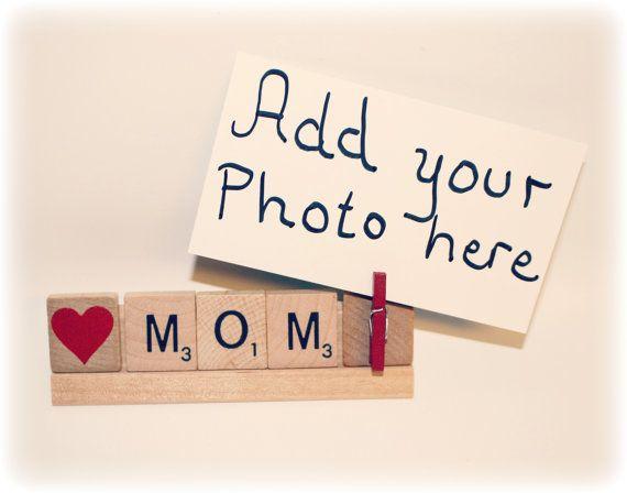 Love Mom, Mom Photo, Mom Photo Holder, Mom Birthday, Dad Gift, Mom ...
