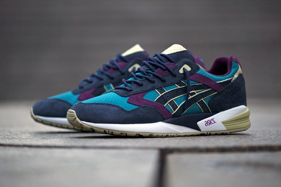Bait X Asics Gel Saga Phantom Lagoons With Images Asics