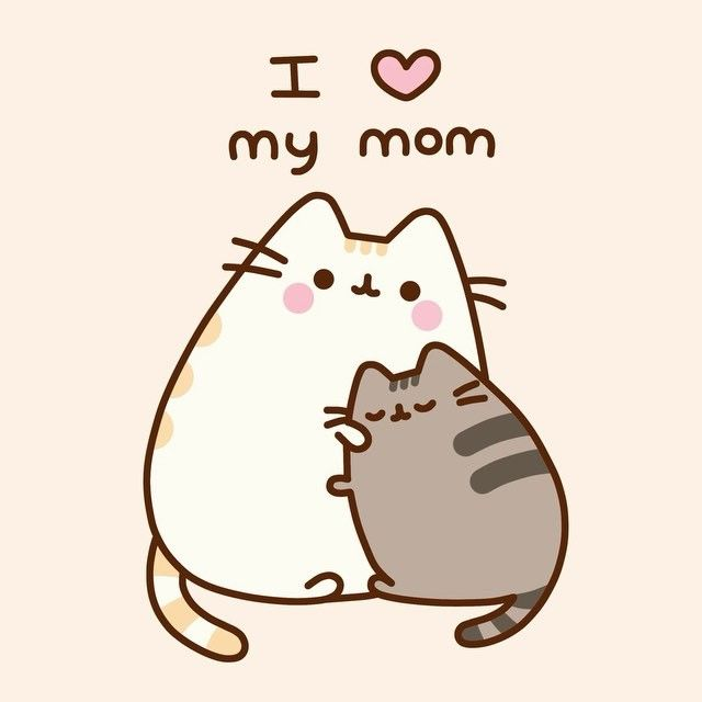 Happy Mothersday Pusheen Cats And Cat